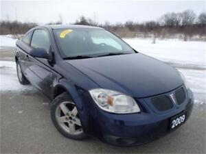 2009 Pontiac G5 SE w/1SA, Accident Free, Certified