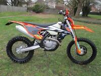 KTM 500 EXC 17 ENDURO TRAIL MOTORCYCLE