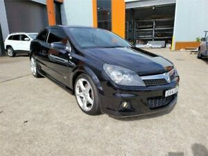 2008 Holden Astra AH MY08.5 SRI Turbo Black 6 Speed Manual Coupe Cardiff Lake Macquarie Area Preview