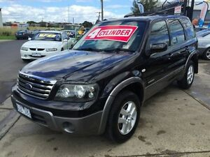 2007 Ford Escape ZC XLS Black 4 Speed Automatic Wagon Brooklyn Brimbank Area Preview