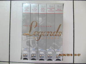Classic Legends Of Hockey 5 piece VHS Box Set NEW! Circa 2000