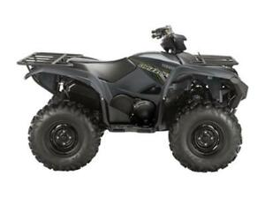 2018 Yamaha Grizzly EPS Grey (Steel Wheels)