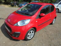 Peugeot 107 ALLURE CAT S REPAIRED (red) 2013