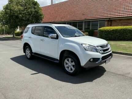 2015 Isuzu MU-X LS-T White 5 Speed Automatic Wagon Chermside Brisbane North East Preview