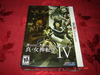 SHIN MEGAMI TENSEI IV NINTENDO 3DS LIMITED EDITION SEALED NEUF.