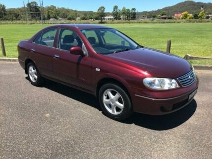 2005 Nissan Pulsar Burgundy Automatic Sedan