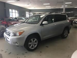 2007 Toyota RAV4 Limited CERTIFIED**FULLY SERVICED BY TOYOTA!