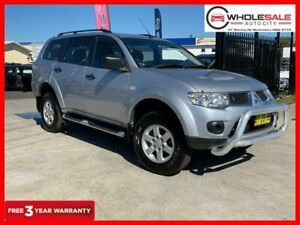 2012 Mitsubishi Challenger PB Wagon 5dr Spts Auto 5sp 2.5DT [MY12] Silver Sports Automatic Wagon