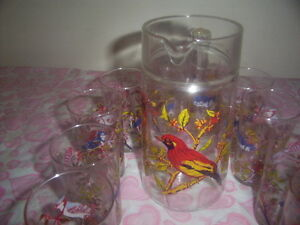 vintage jug and glasses set. Kingston Kingston Area image 3