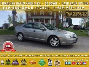 2009 Ford Fusion SEL-Leather Heated Seats-SYNC- Sunroof-Steering