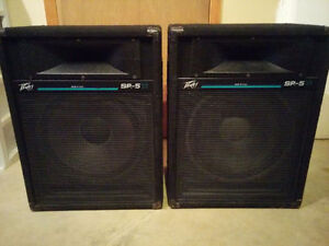 Peavey SP5 Ti 250W 2-Way Sound Reinforcement Speakers