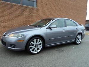 2008 Mazda Mazda6 GT NAVIGATION AUTOMATIC LEATHER ROOF SAFETY IN