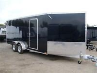 ENCLOSED CARGO TRAILER - SNOWMOBILE  SLED - RANCE ALUMINUM