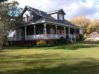 History restored, 4 BR character home on .66 ac within town!