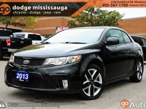 2013 Kia Forte Koup SX+LEATHER+SUNROOF+LOADED