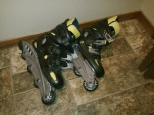 Girl's Rollerblades (size 6)