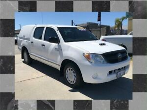 2007 Toyota Hilux KUN16R 07 Upgrade SR 5 Speed Manual Cab Chassis Wangara Wanneroo Area Preview