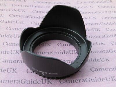 62mm Lens Hood 62mm Screw Mount For Nikon,Sigma,Tokina,Tamron,Sony,Canon Lens Mount Hood 62 Mm
