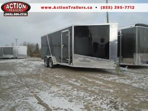 21' DRIVE IN / OUT ALL ALUMINUM SPORT TRAILER - TONS OF FEATURES London Ontario image 1