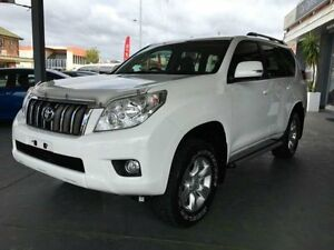 2012 Toyota Landcruiser Prado KDJ150R GXL White 5 Speed Automatic Wagon Hamilton Newcastle Area Preview