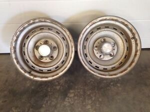 2 GM rally rims 15x8