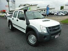 2011 Isuzu D-MAX TF MY10 SX (4x4) White 5 Speed Manual Dual Cab Utility Westcourt Cairns City Preview