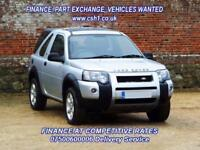 2006 56 LAND ROVER FREELANDER 2.0 TD4 ADVENTURER 3D 110 BHP DIESEL
