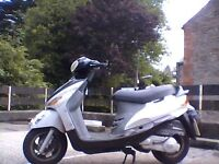 for sale sym megalo 125cc mot may 2018 £450