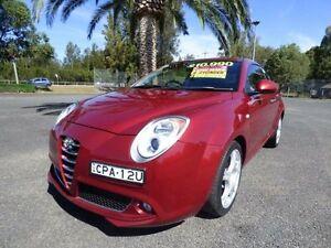 2012 Alfa Romeo Mito MY12 Progression Red Sports Automatic Dual Clutch Hatchback Cabramatta Fairfield Area Preview