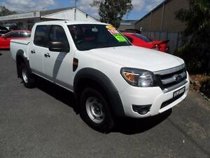 2011 Ford Ranger PK XL White Manual Utility Mudgee Mudgee Area Preview