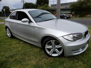 2009 BMW 125i E82 MY10 125i Silver 6 Speed Automatic Coupe Moorabbin Kingston Area Preview