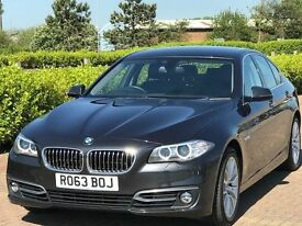 BMW 5 SERIES 2.0 520D LUXURY 4d AUTO 181 BHP (grey) 2013