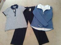 3 items of M&S gym / relaxation wear - never been worn. Size 10. £25 for all 3.