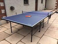 RILEY 9FT INDOOR & OUTDOOR TABLE TENNIS SET