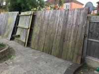 FREE 6 Foot Fences - 45 FT in Total.