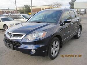 2009 Acura RDX Tech Pkg NAVI BACK UP CAMERA ACCIDENT FREE