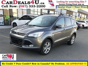 2013 FORD ESCAPE SEL AWD  * NEW WINTER TIRES * $0 DOWN PAYMENT