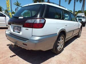 2002 Subaru Outback D/Range AWD White 5 Speed Manual Wagon Rosslea Townsville City Preview