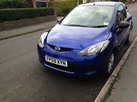 Mazda 2 TS for sale, one owner from new, MOT Dec, sevice history and well looked after.