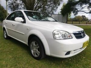 2006 Holden Viva JF White 4 Speed Automatic Sedan Tuggerah Wyong Area Preview