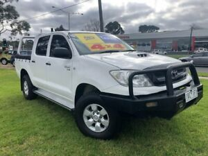 2011 Toyota Hilux KUN26R MY10 SR White 4 Speed Automatic Utility Ferntree Gully Knox Area Preview