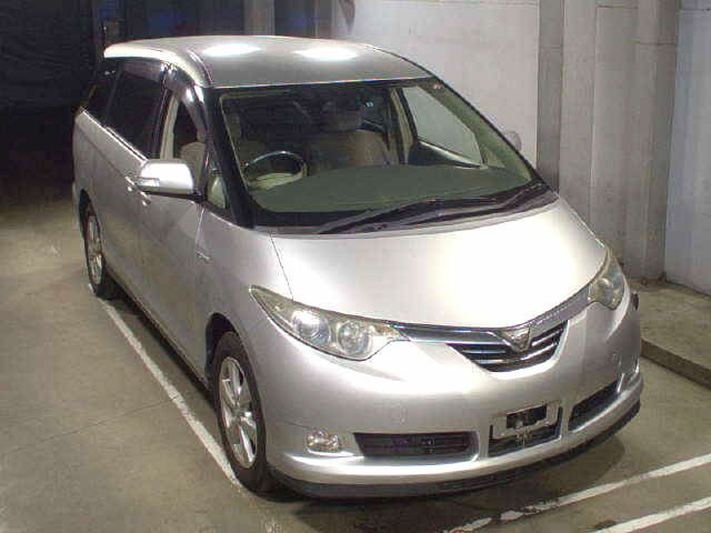 FRESH IMPORT NEW SHAPE TOYOTA ESTIMA PREVIA PRIUS HYBRID AUTO VERY ECONOMICAL