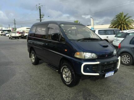 1994 Mitsubishi Delica P25W Exceed Blue 4 Speed Automatic Panel Van Wangara Wanneroo Area Preview