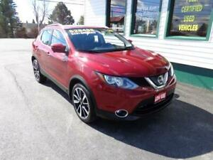 2019 Nissan Qashqai SL AWD for only $231 bi-weekly all in!