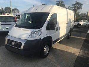 2010 Fiat Ducato MY10 XLWB/Med White 6 Speed Automatic Van
