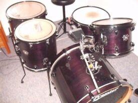 Premier Drum Kit - Excellent Condition
