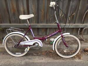 Universal 'Stowaway' folding bicycle Refurbished Port Melbourne Port Phillip Preview
