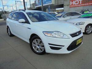 2011 Ford Mondeo MC LX Tdci White Auto Dual Clutch Wagon Holroyd Parramatta Area Preview