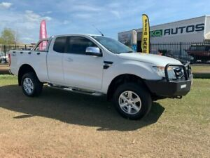 2013 Ford Ranger PX XLT Double Cab White 6 Speed Sports Automatic Utility Durack Palmerston Area Preview