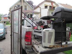 OLD APPLIANCES AND SCRAP METALS OF ANY KIND